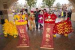 【上海】春節スタート!ミッキーとミニーが「目入れ」の儀式に挑戦/アラン・メンケン来中
